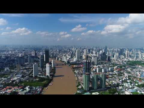 Can I fly my Drone 2 miles over the Chao Phraya River in Bangkok