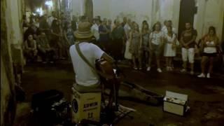 MRS ROBINSON - Edwin One Man Band - busker - Grottaglie - 2016