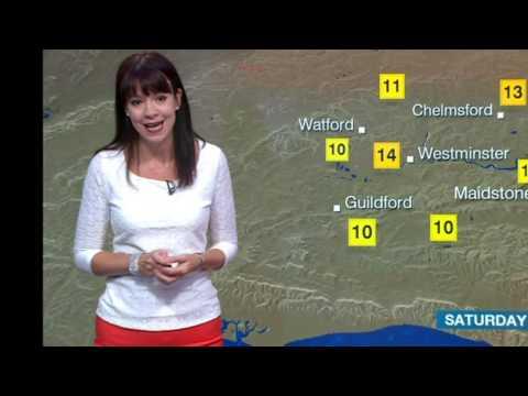 ELIZABETH RIZZINI:: BBC  London Weather  31 July 2015  A Nice Day Tomorrow