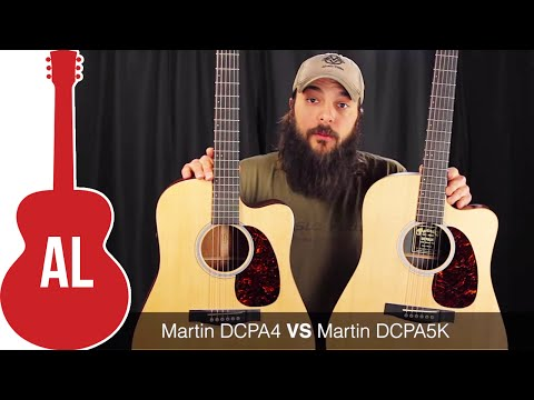 Martin DCPA4 vs DCPA5K - Can you hear a difference?