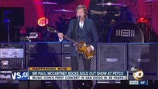 McCartney rocks Petco Park