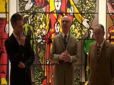 Gilbert and George First Saturday Tour