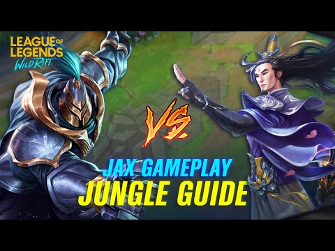 HOW TO COUNTER MASTER YI IN WILD RIFT   Jax Vs. Master Yi Jungle Wild Rift Gameplay