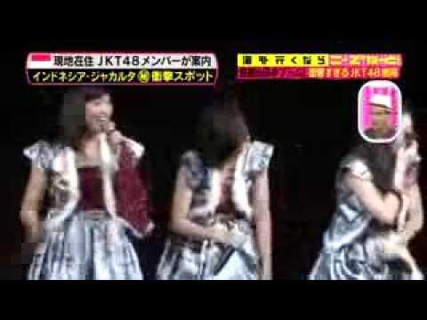 Jakarta ada di tv japan