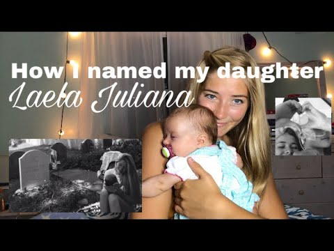 How I Named My Daughter // Unique Teen Mom Baby Name