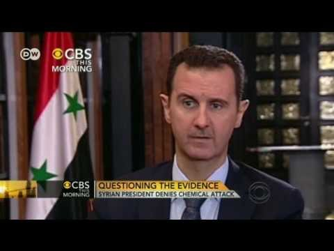 Assad in CBS Interview to the chemical attack | Journal