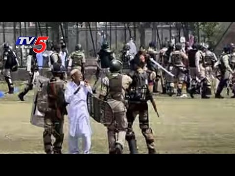 6 Hurt As Protesters Clash With Police | Srinagar | Kashmir | TV5 News