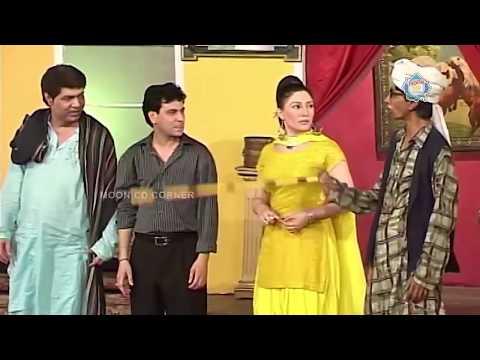 Sajan Abbas and Tariq Teddy New Pakistani Stage Drama Full Comedy Clip