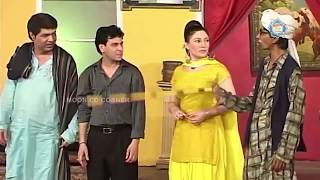 Sajan Abbas and Tariq Teddy New Pakistani Stage Drama Full Comedy Clip