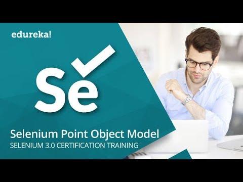 Selenium Page Object Model Using Page Factory | Selenium Tutorial For Beginners | Edureka