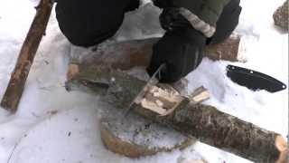 Нож Working Knife WK-5. Убойный тест.