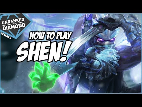 HOW TO PLAY SHEN TOP! - Unranked to Diamond - Episode 105 | League of Legends
