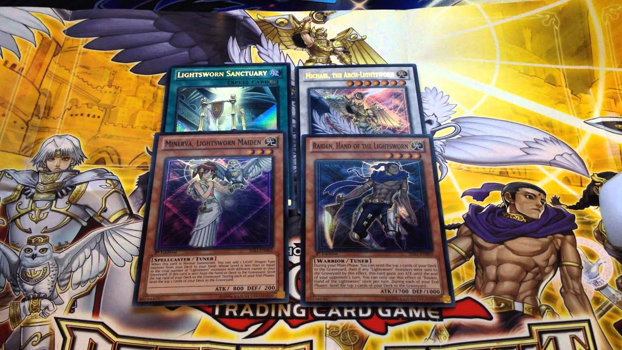 Yu gi oh realm of light structure deck unboxing and review youtube mozeypictures Images