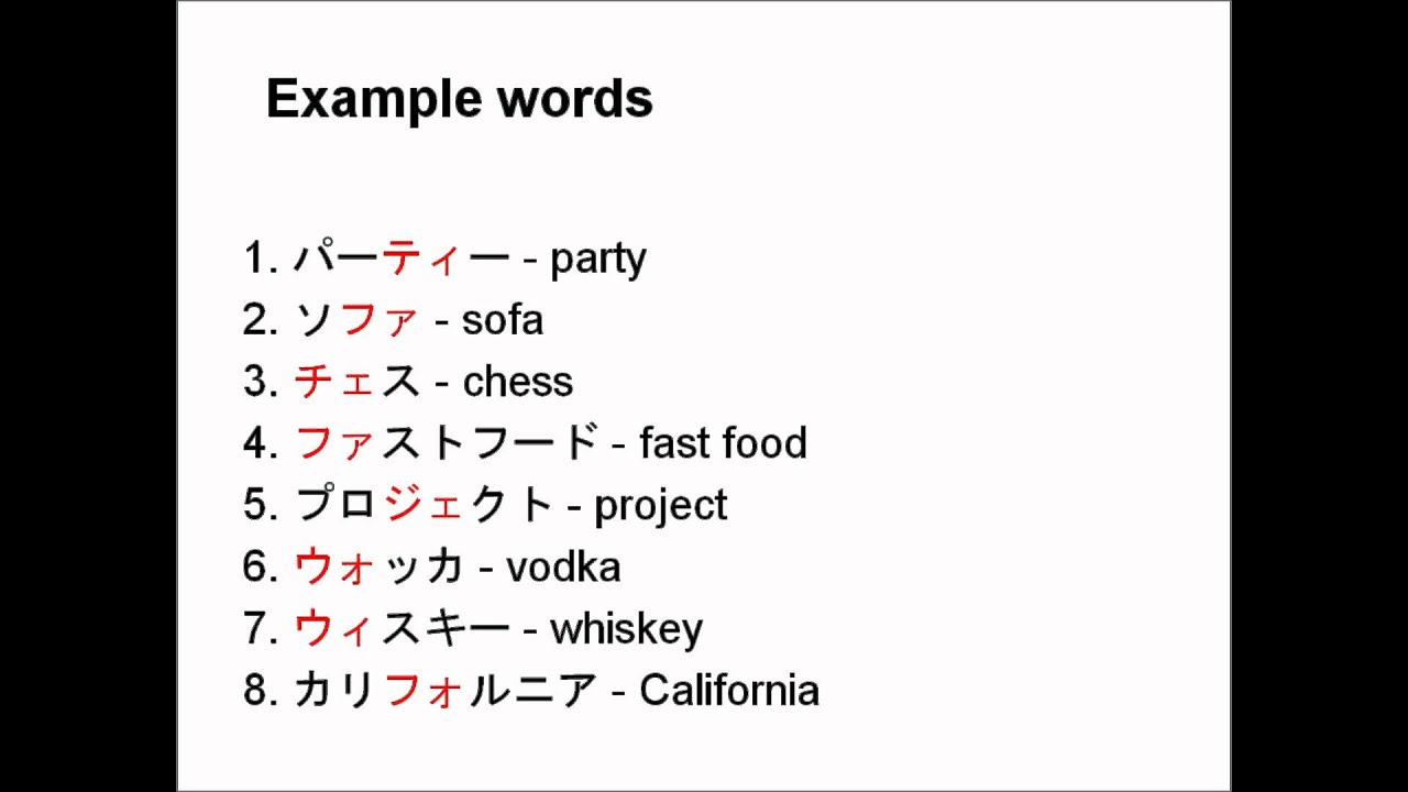 Learn Japanese From Scratch 122 More Sounds In Katakana Youtube