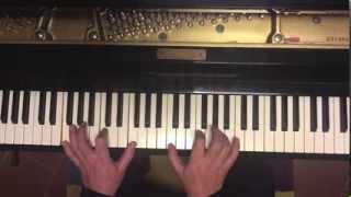 Tutorial piano y voz Hoy duerme el león (Mbube) Solomon Linda