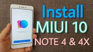 Install Official MIUI 10 on Xiaomi Redmi Note 4 & Note 4X (With Play Store)
