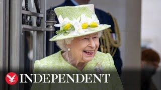 The Queen recounts being awarded life saving honour