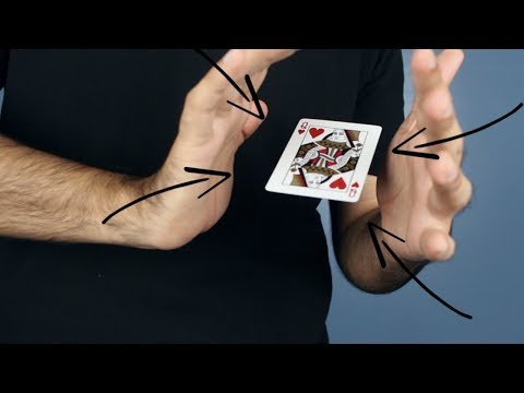 How To Make A Playing Card Levitate!   Loops Tutorial #1