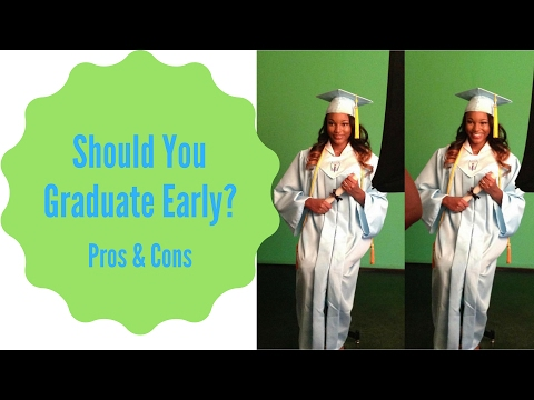 Pros & Cons of Graduating High School Early