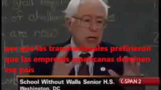 Bernie Sander - NeoColonialismo de América Latina