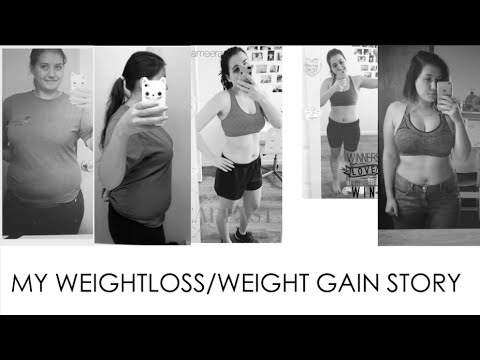 MY WEIGHT LOSS/WEIGHT GAIN STORY