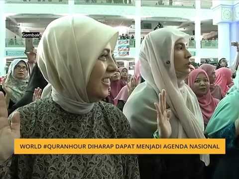 World #QuranHour diharap dapat menjadi agenda nasional
