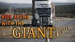 Ride Along With The Giant - 104 tonne timber truck