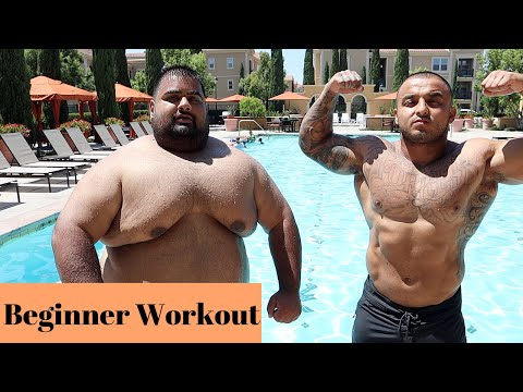 Weight-Loss Transformation | At Home Beginner Workout + Week 4 Weigh In
