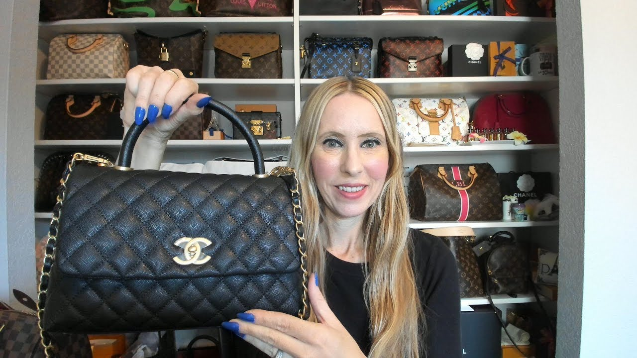 1cc6d8aa60a Chanel Small Coco Handle Unboxing - YouTube