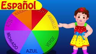 ¡La Canción de Los Colores! | Canciones infantiles en Español | ChuChu TV thumbnail