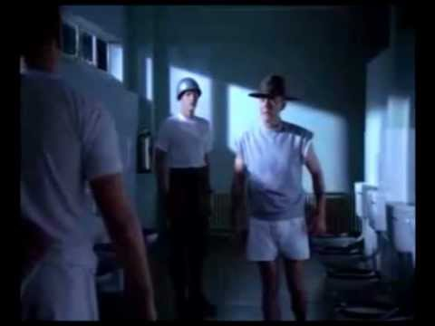 Full Metal Jacket  Private Pyle Shoots Sergeant Hartman
