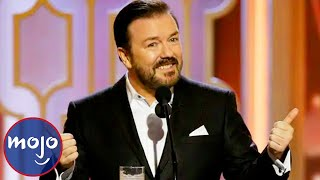 Top 10 BRUTAL Ricky Gervais Insults
