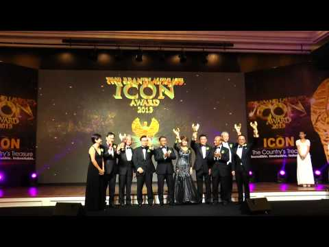 Lord's Tailor @ The BrandLaureate ICON Award 2013