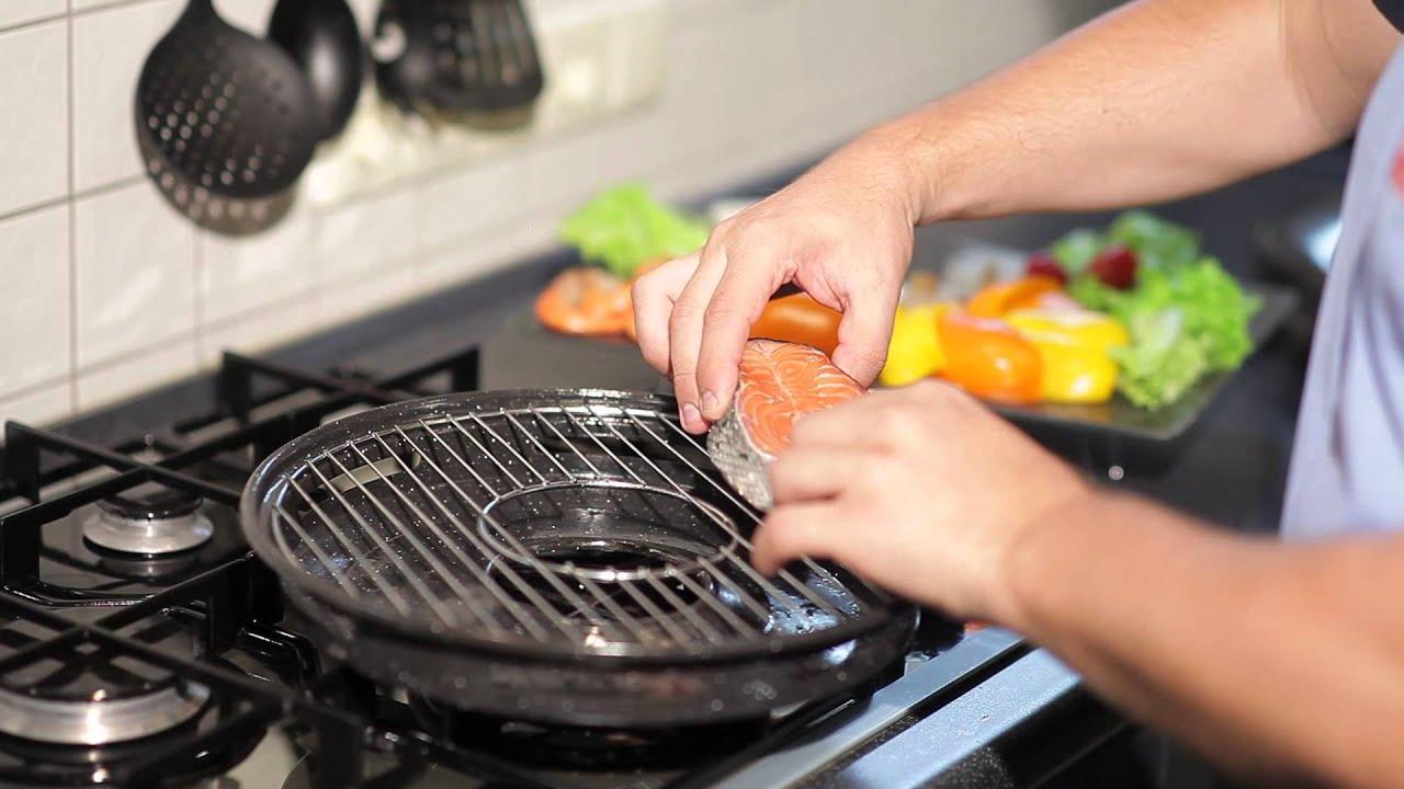 Двусторонняя сковорода «Мастер Жар». Двойная мульти сковорода с .