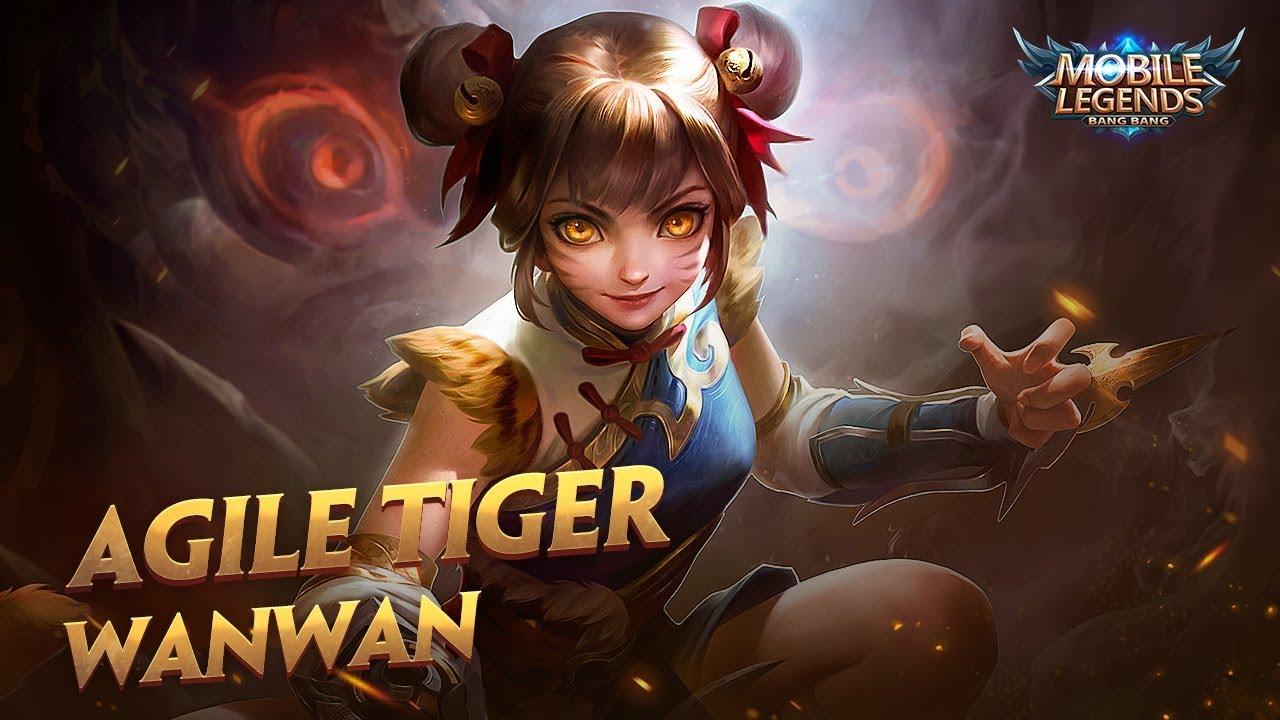 hero spotlight | wanwan | agile tiger | mobile legends: bang bang