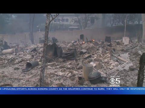Fire Destroys Entire Glen Ellen Neighborhood