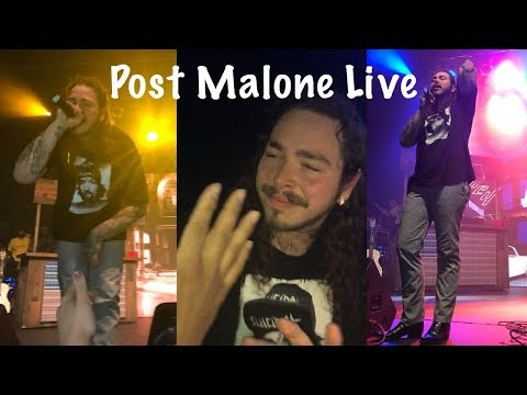 Post Malone - I Fall Apart Live GBC Fest Toronto 2017
