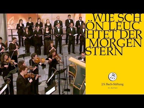 J.S. Bach - Cantata BWV 1 Wie schön leuchtet der Morgenstern | 1 Chorus (J. S. Bach Foundation)