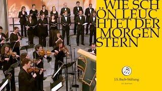 J.S. Bach - Cantata BWV 1 - Wie schön leuchtet der Morgenstern - 1 - Chorus (J. S. Bach Foundation)