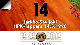 Joulukalenteri #14: Jarkko Savijoki, hattutemppu