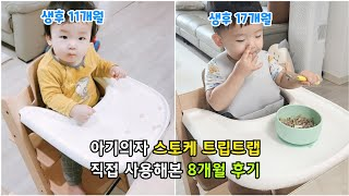 [내돈내산 육아용품] 스토케 트립트랩 아기식탁의자 실사…