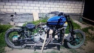 Мотоцикл c двигателем от Ваз 2109  Часть 9.Двухконтурное зажигание.