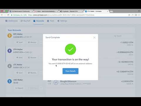 How to Transfer/Trade Cryptocurrency Funds From Coinbase to Cryptopia Tutorial