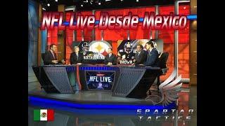 #ESPN #ESPN2 #NFL #ESPNDeportes NFL Live Desde Mexico 23 De Junio HD