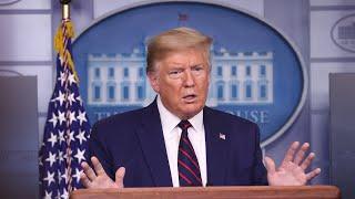 WATCH: President Trump and the Coronavirus Task Force provide update on coronavirus