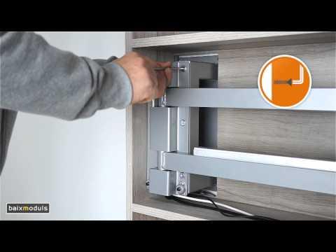 Instrucciones montaje mueble tv 103 youtube for Muebles para tv con ruedas