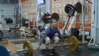 Маклаков Тимур, 13 лет, вк 46 Рывок 46 кг