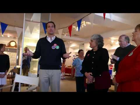 Himes discusses women's rights in New Canaan