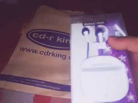 Unboxing & Initial review Mobile king Earphone ( CD-R King)