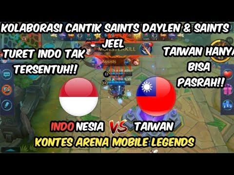 INDONESIA BERMAIN CANTIK!! TAIWAN SAMPE TIDAK DIKASIH BUFF SAMPE AHIR GAME